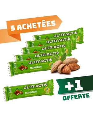 Barre ultractiv Amandes