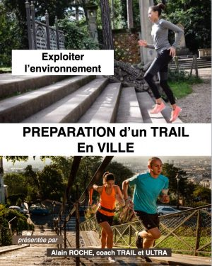 Préparation d'un trail en ville